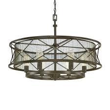 6 light pendant capital lighting chandelier axis 4 winter gold 8