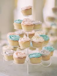 Cakes Desserts Photos Tower Of Pastel Cupcakes Inside Weddings