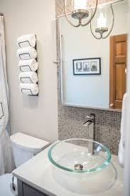 gray vanity bathroom remodel brown