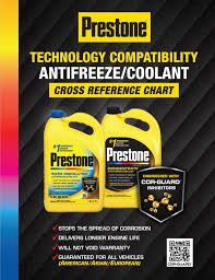 Zerex Coolant Compatibility Chart Technology Compatibility Chart By Prestone Issuu