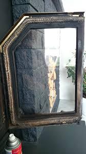 clean glass fireplace doors