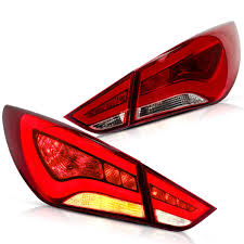 2012 Hyundai Sonata Rear Brake Light Amazon Com Yuanzheng Led Tail Lights For Hyundai Sonata