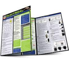 Electrical Tri Fold Laminated Chart Inc Barcharts