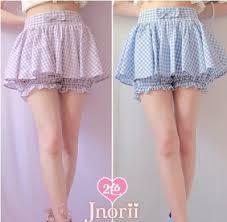 Princess sweet lolita shorts BOBON21 original design cool thin Cotton plaid  cotton shorts skirtshorts B1014 bubbles blue purple|shorts fabric|shorts  plainshorts black - AliExpress