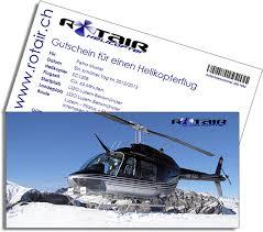 gutschein helikopterflug
