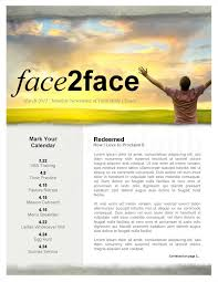 Church Newsletter Template Magdalene Project Org