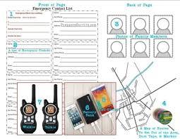 Emergency Communication Plan Template Urldata Info
