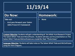 do now homework take out ppt  11 19 14 do now homework take out