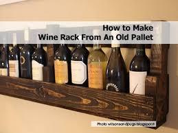 pallet wine rack instructions. Jenna, At Wilsonsandpugs.blogspot.fr, Explains How She And Her Husband Built This Fun Wine Rack, Instructions Are So Easy To Understand That It Pallet Rack