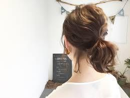 簡単まとめ髪女度を格上げしてくれる最強ヘア Hair