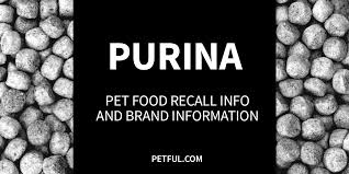 Purina Light And Healthy Dog Food Recall Purina Pet Food Recall History