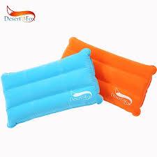Desert&Fox 1pc Camping Air Inflatable Pillow Portable Folding ...