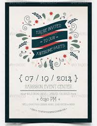 invitation flyer 22 best collection of invitation flyers psd word ai pages