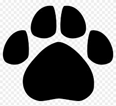 tiger paw clipart black and white. Brilliant Tiger Leopard Bear Tiger Dog Animal Track  Paw Clip Art Intended Clipart Black And White
