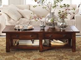 fullsize of dainty brown rectangle vintage varnished wood coffee table decorating ideas furniture coffee table decorating