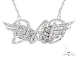 custom made dad pendant with angel