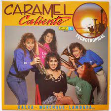 Tecnotropical - salsa, merengue, lambada by Caramelo Caliente, LP with  cafe_disc - Ref:117785542