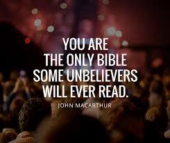 Johnmacarthurquotesyouaretheonlybiblesomeunbelieverswill Adorable John Macarthur Quotes