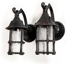 vintage and tudor style outdoor light fixtures