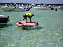 Crab Island Submerged Sandbar Is Destin Hot Spot