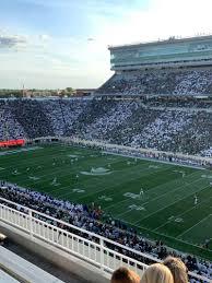 Spartan Stadium Section 105 Row 5 Seat 1 Michigan State