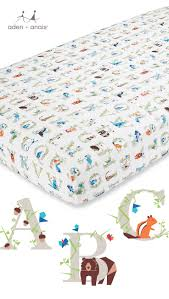 alphabet crib sheet soft as a mothers touch our classic animal and alphabet crib sheet