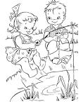 Раскраски лето детям