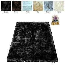 soft faux fur area rug throw rug accent rug plush sheepskin rectangle