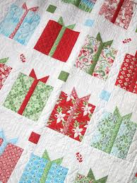 22 best images about Quilts on Pinterest | Free pattern, Fish ... & Flurry Presents Kit @ Hollyhill Quilt Shoppe... so want this! Adamdwight.com