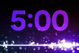 5 Minute Powerpoint Timer 5 Minutes Dancing Particles Ministry Countdown Timer