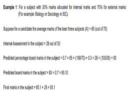 how to calculate icse isc 10th 12th