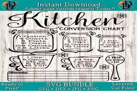 Picsvg is a free online converter that can convert an image to a svg file. Kitchen Conversion Chart Svg Graphic By Dynamicdimensions Creative Fabrica Svg Conversion Chart Kitchen Conversion Chart