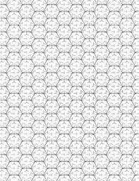 Hexagonal Graph Paper Notebook Multi Directional Lined Large Grid 1