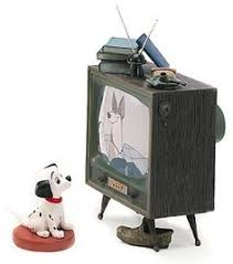 wdcc disney clics 101 dalmatian lucky and television wdccdisneyclics art 2 piece set