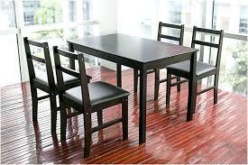 Ikea Dining Room Tables With Ikea Ikea Black Acacia Skogsta Dining