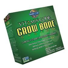 garden of life raw calcium supplement vitamin code grow bone system whole f