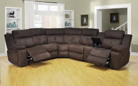 reclining sectional microfiber. Fine Reclining Claremont Chocolate Microfiber 3 Piece Reclining Sectional With Console With U