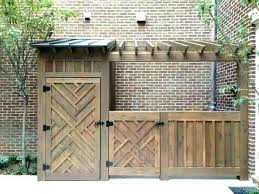 refuse storage shed small wood storage shed plans