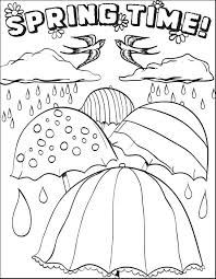 Free Spring Coloring Pages Free Printable Spring Coloring Pages For
