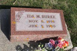 Ida Marie Nelson Burke (1898-1980) - Find A Grave Memorial