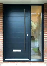 modern black entry doors front door contemporary part double blac elegant modern front door black