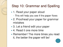writing a research paper in easy steps 13