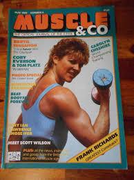 muscle co bodybuilding magazine carolyn chesire cory everson 5 85 uk ebay