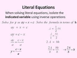 solve the equation for indicated variable calculator jennarocca
