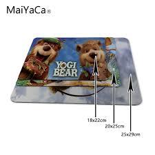 maiyaca yogi bear game gaming mouse pad mat mousepad as gifts whole not lock edge mouse pad