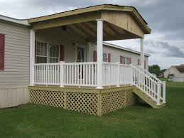Mobile Home Porch Steps | Porch Ideas for Mobile Homes | Mobile Home Porches
