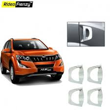 mahindra xuv500 door chrome handle covers at low s rideofrenzy