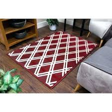 red runner rug solid red runner rug