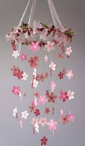 Paper Flower Mobiles Pin By Megan Jenkins On Baby Flower Mobile Crafts Paper