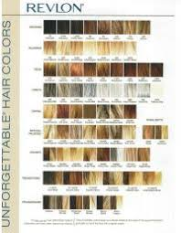 Revlon Professional Hair Colour Chart Revlon Hair Colour Shades Chart Loreal Shades Of Blonde